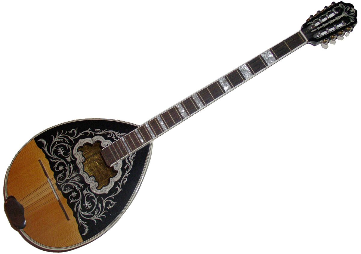 We had to Google it. This is a bouzouki.