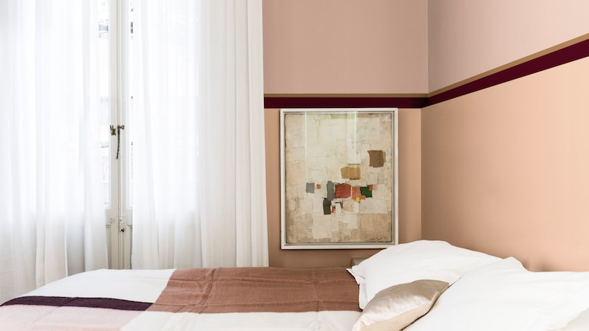 A place to think - bedroom inspiration (Just Walnut, Golden Light and Finest Burgundy)
