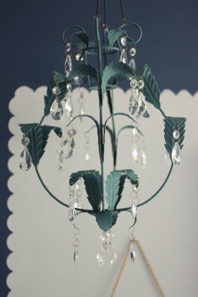 Tilbury Teal chandalier