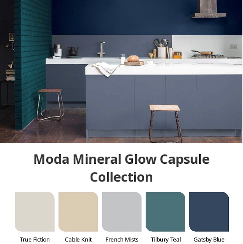 Moda Mineral Glow Capsule Collection